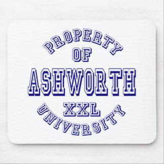 Property of Ashworth University Mouse Pad
