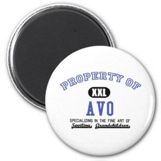 Property of Avo Fridge Magnet