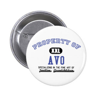 Property of Avo Pinback Button