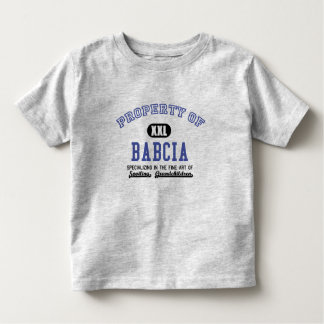 Property of Babcia Toddler T-shirt