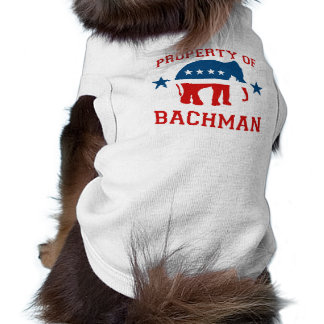 PROPERTY OF BACHMAN PET TEE SHIRT