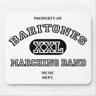 Property of Baritones Mouse Mat