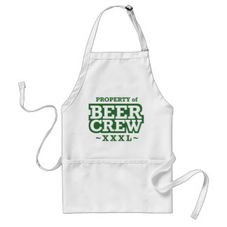Property of Beer Crew - Green Adult Apron