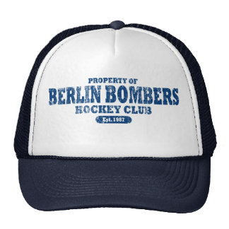Property of Berlin Bombers Baseball Hat