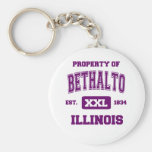 Property of Bethalto Key Chains