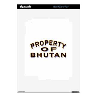 Property Of Bhutan iPad 2 Skins