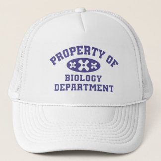 Property Of Biology Department (purple) Cap