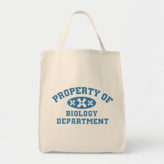 Property Of Biology Department Tote Bags