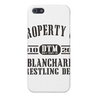 Property Of Blanchard Wrestling iPhone SE/5/5s Cover