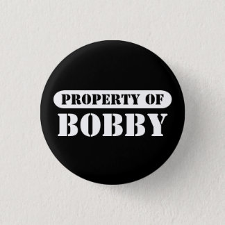Property of Bobby Button