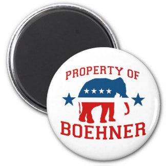 PROPERTY OF BOEHNER MAGNET