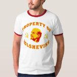 Property of Bolsheviks T-shirts