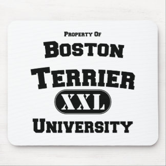 Property of Boston Terrier University Mouse Pad