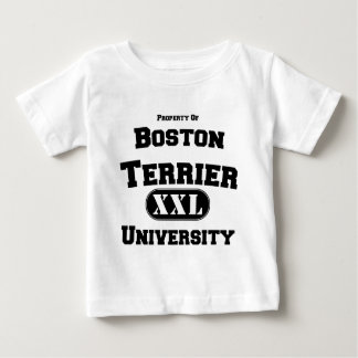 Property of Boston Terrier University Tees