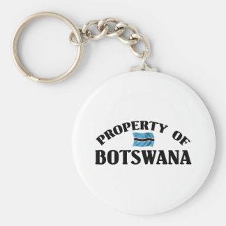 Property Of Botswana Keychain