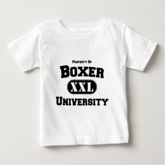 Property of Boxer University Baby T-Shirt