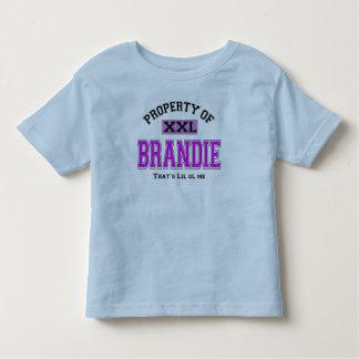 PROPERTY  OF BRANDIE TEE SHIRT