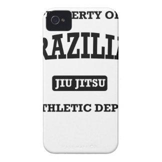 Property of Brazilian Jiu Jitsu Atheltic Departmen iPhone 4 Cover