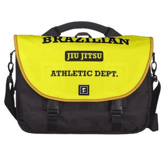 Property of Brazilian Jiu Jitsu Atheltic Departmen Laptop Bags