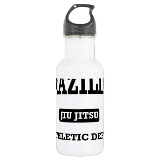 Property of Brazilian Jiu Jitsu Atheltic Departmen Water Bottle