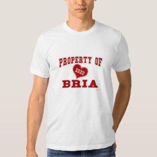 Property of Bria T-shirt