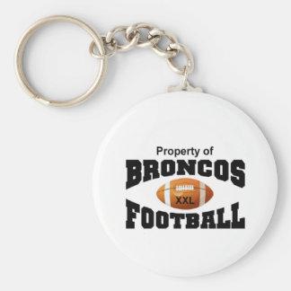 Property of Broncos Key Chain