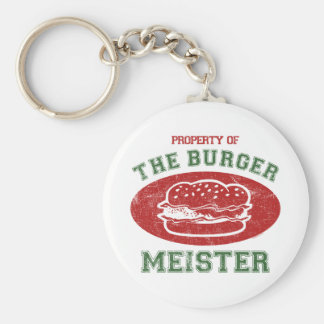 Property of Burger Meister Key Chain