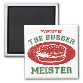 Property of Burger Meister Magnets