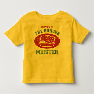 Property of Burger Meister T-shirt