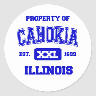 Property of Cahokia Classic Round Sticker