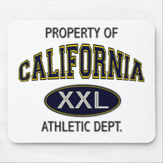 PROPERTY OF_CALIFORNIA ATHLETIC DEPT. MOUSE PAD
