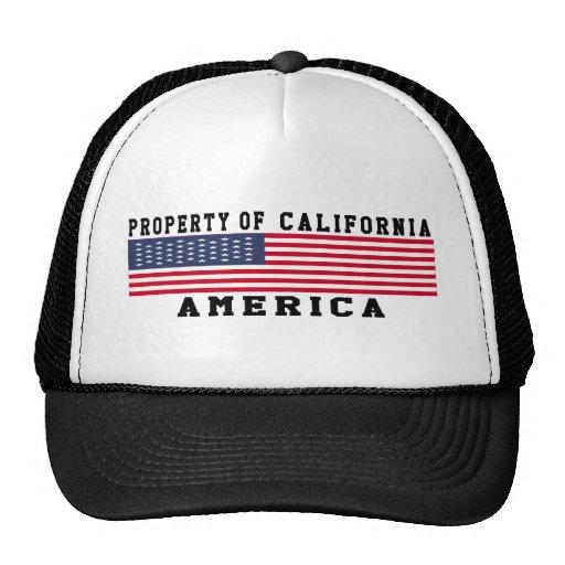 Property Of California Hats