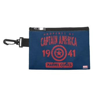 Property Of Captain America Accessory Bag