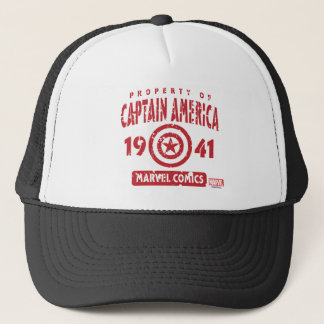 Property Of Captain America Trucker Hat