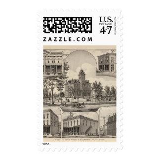 Property of CH Lebold, Abilene, Kansas Postage