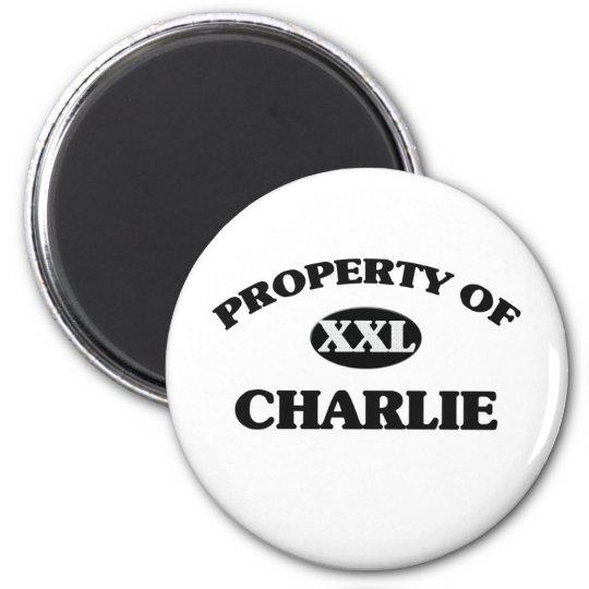 Property of CHARLIE Magnet