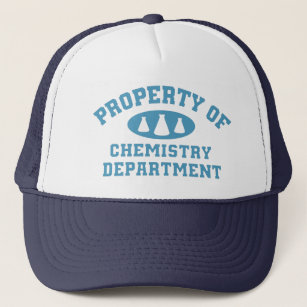 Property Of Chemistry Department (blue) Cap
