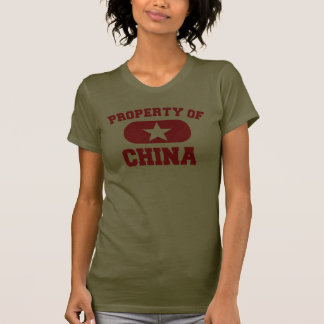 Property of China Design Tee Shirt