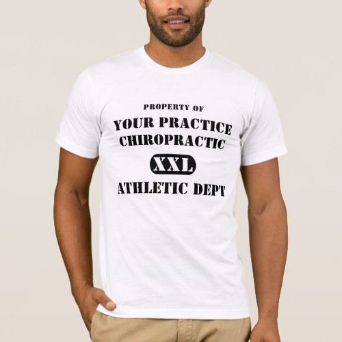 Property of Chiropractic Athletic Dept.