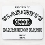 Property of Clarinets Mouse Mat