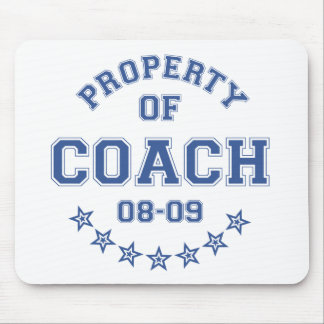 Property Of Coach Mouse Pad
