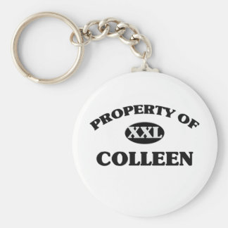 Property of COLLEEN Keychain