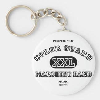 Property of Colorguard Keychain