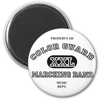 Property of Colorguard 2 Inch Round Magnet