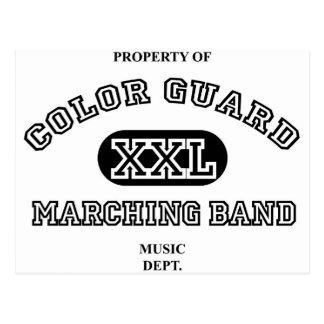 Property of Colorguard Postcard