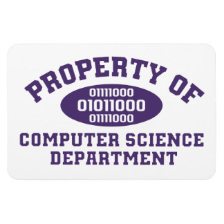 Property Of Computer Science Department Rectangular Photo Magnet