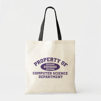 Property Of Computer Science Department Tote Bag