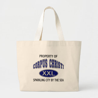 PROPERTY OF CORPUS CHRISTI CANVAS BAGS