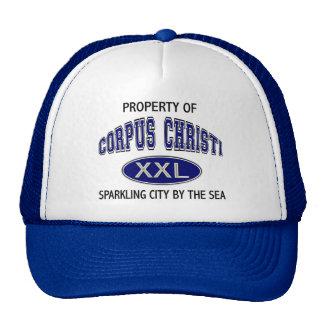 PROPERTY OF CORPUS CHRISTI MESH HATS