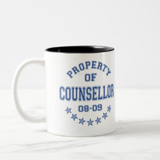 Property Of Counsellor Two-Tone Coffee Mug